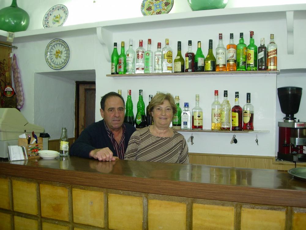 En Manolo i na Mari dugueren el bar durant més de 25 anys