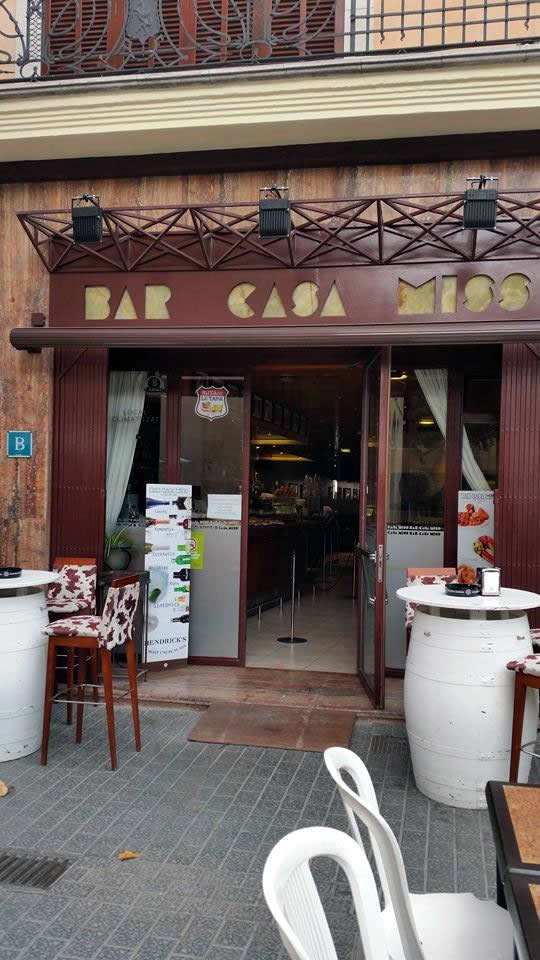 Restaurant Casa Miss sa Pobla Tapas restaurant