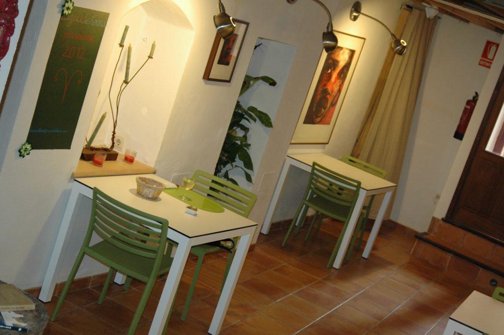Un espai on t'hi trobaràs a gust. Restaurant s'Oli 13. Palma