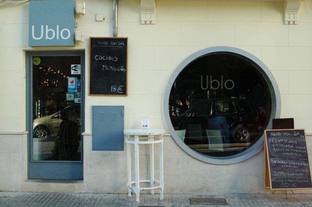Restaurant Ublo de la Plaça Progrés de Palma