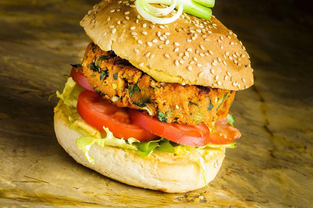 Restaurant es rebost Palma vegetal burger