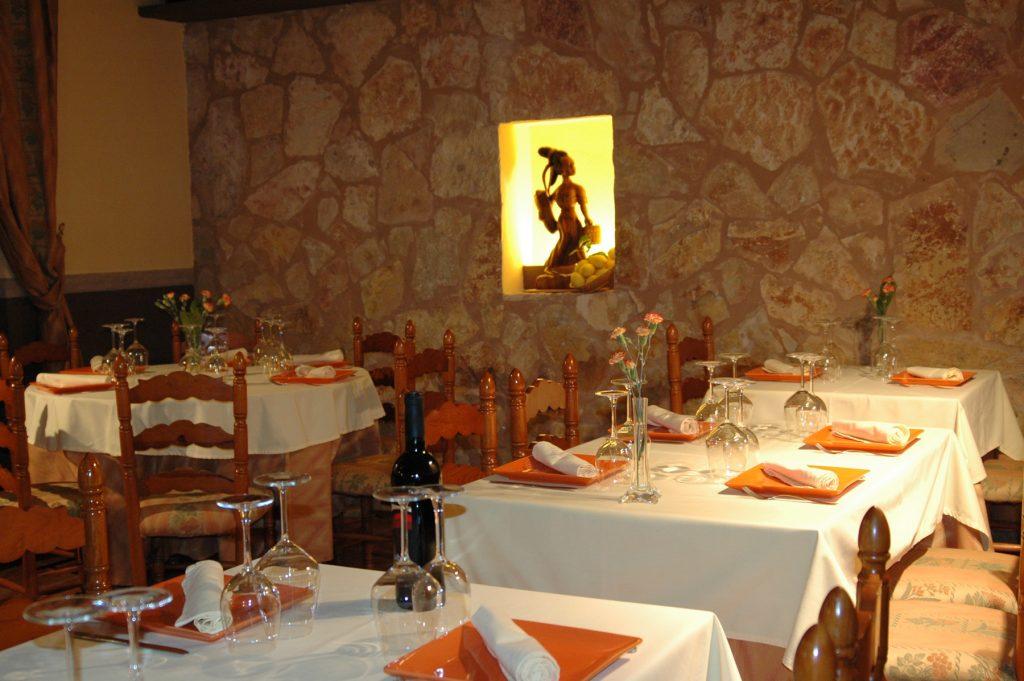 Restaurant càlid i prestigiós