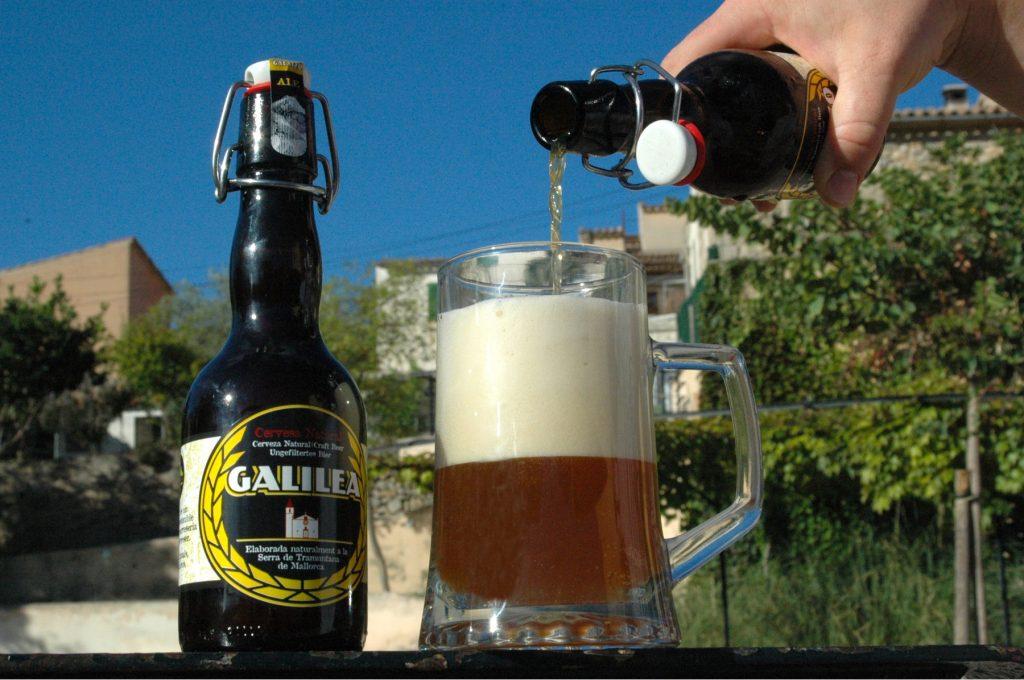 Cervesa Galilea plaer de Mallorca