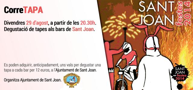 CorreTapa a Sant Joan 2014