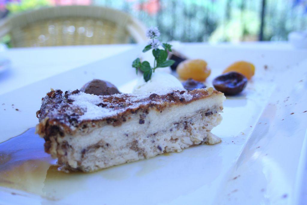 Greixonera ametlla Restaurant Montimar Estellencs