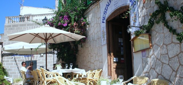 Restaurant Montimar. Estellencs