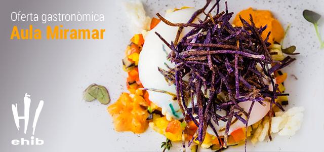 Nova carta del restaurant Miramar de l'Escola d'Hoteleria de les Illes Balears