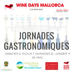 Wine Days Mallorca Jornades Gastronòmiques Santa Maria del Camí