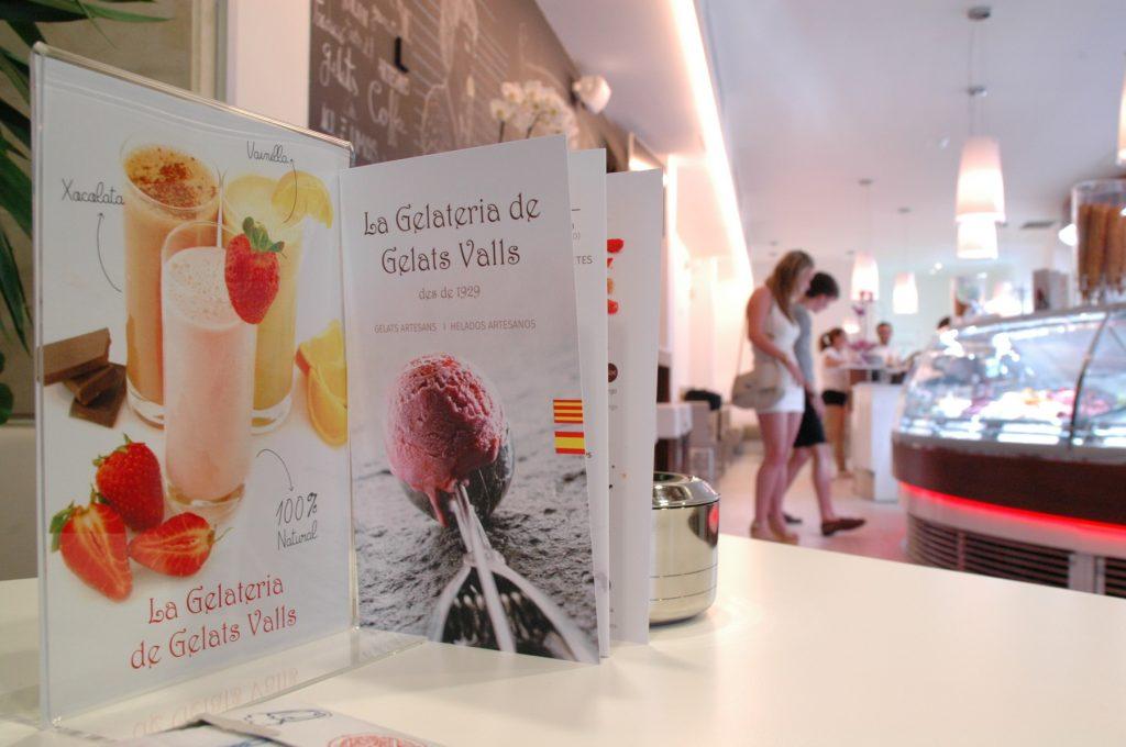Gelats Valls gelats artesans
