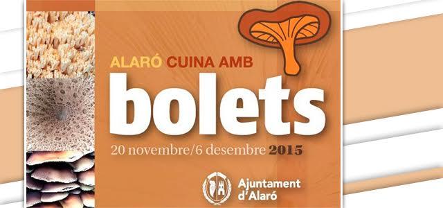 Alaró Cuina amb Bolets 2015