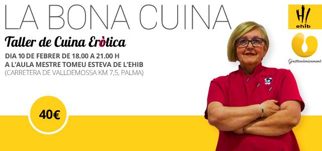 La Bona Cuina: Taller de cuina eròtica a Palma