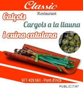Restaurant Classic Pont d\'Inca