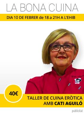 Taller cuina eròtica Palma Cati Aguiló EHIB