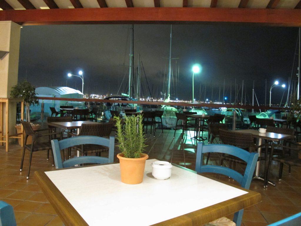 El Club restaurant club nautic can pastilla