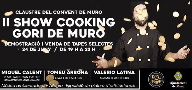 Show Cooking Gori de Muro 2016