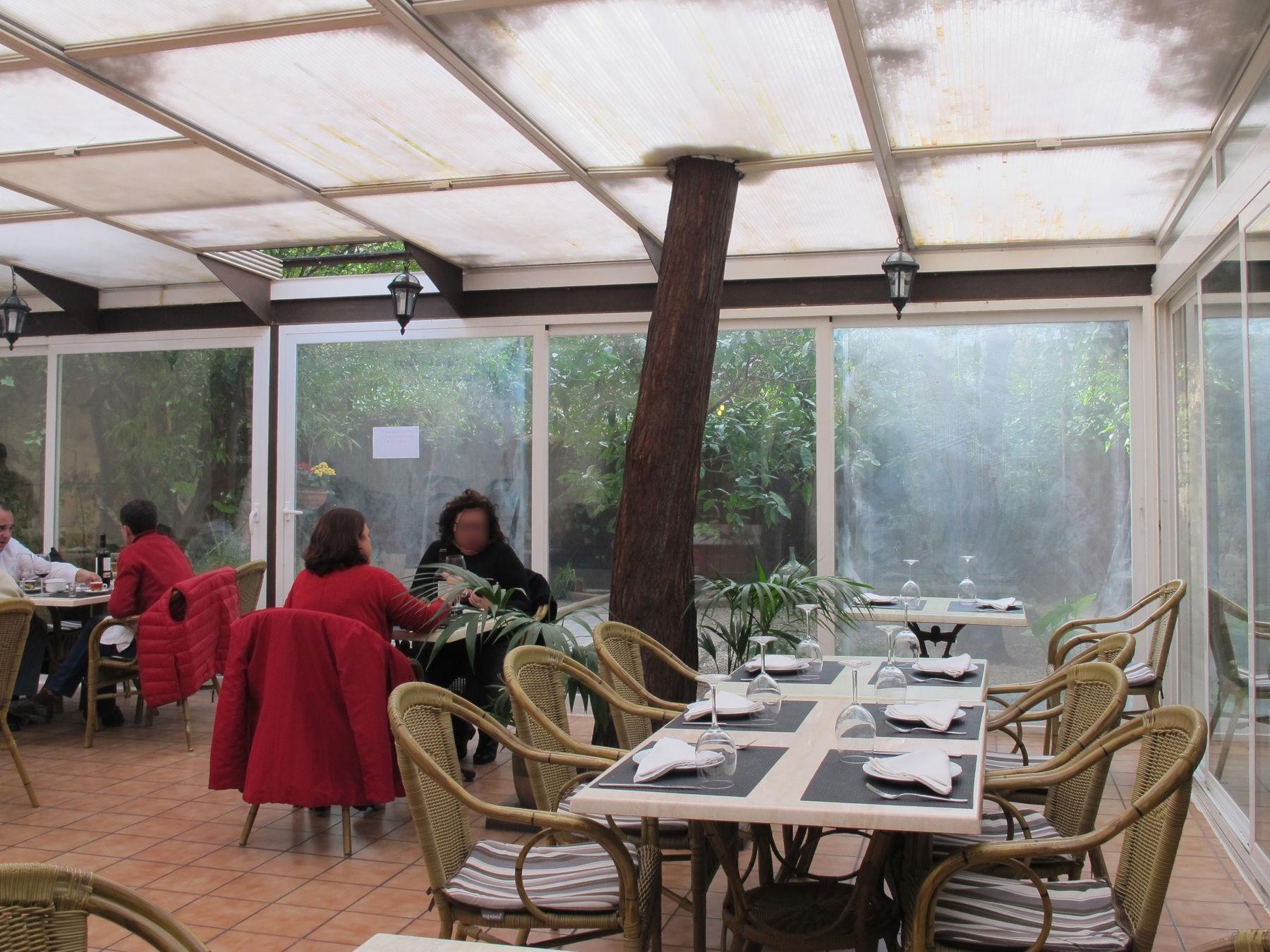 Restaurante azabache de palma - Bache restaurant terras ...