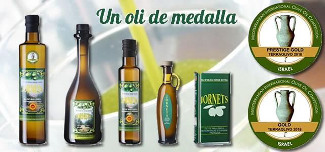 Olis de Jornets premiat al concurs internacional Terraolivo 2016