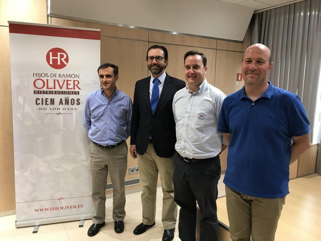 Ramon Oliver, Alejandro Saenz, Chicho Oliver y Leandro Galantini