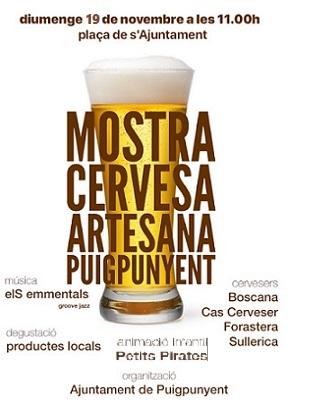 Mostra Cervesa Artesana Puigpunyent 2017