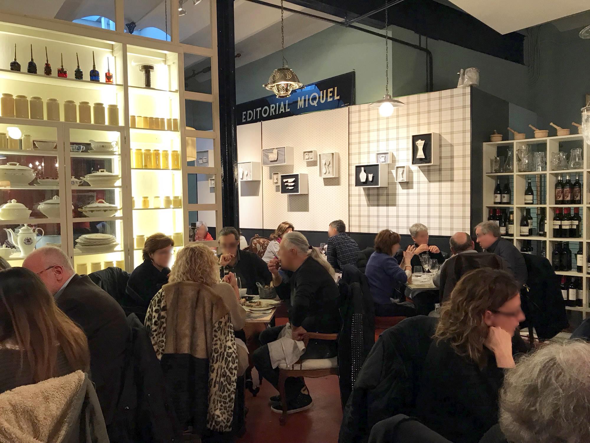 Semproniana Gastron Micament ~ Restaurant Semproniana Barcelona