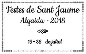 Festes Sant Jaume Algaida 2018