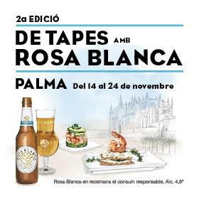 De Tapes amb Rosa Blanca Damm 2019