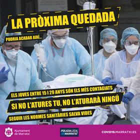 [:ca]Coronavirus Setembre Quedada Marratxí 2020[:]