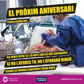 [:ca]Coronavirus Setembre Aniversari Marratxí 2020[:]